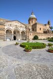 Palermo cathedral, Italy. Palermo cathedral, Sicily island, Italy Royalty Free Stock Image