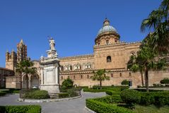 Palermo cathedral, Italy. Palermo cathedral, Sicily island, Italy Stock Images