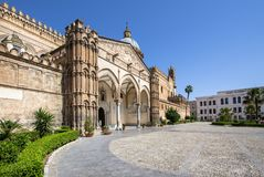 Palermo cathedral, Italy. Palermo cathedral, Sicily island, Italy Royalty Free Stock Photography
