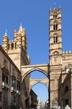 Palermo cathedral, Italy. Palermo cathedral, Sicily island, Italy Stock Image