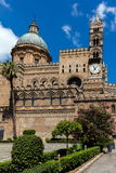 Palermo Cathedral in Palermo, Sicily Stock Photo