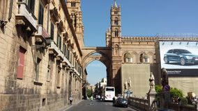 The Palermo Cathedral, Palermo, Sicily, Italy Royalty Free Stock Images