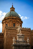 Palermo Cathedral Stock Images