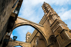 Palermo cathedral. Santa Maria Assunta cathedral in Palermo, Sicily, Italy Stock Images