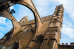 Palermo cathedral. Santa Maria Assunta cathedral in Palermo, Sicily, Italy Royalty Free Stock Photo