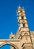 Palermo cathedral. Santa Maria Assunta cathedral in Palermo, Sicily, Italy Royalty Free Stock Image