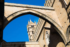Palermo cathedral. Santa Maria Assunta cathedral in Palermo, Sicily, Italy Royalty Free Stock Images