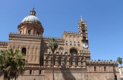 Palermo cathedral Stock Image