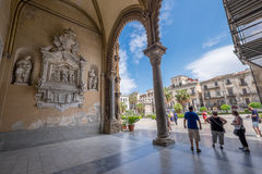 Palermo Cathedral, Sicily Royalty Free Stock Image