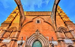 Palermo Cathedral, a UNESCO world heritage site in Sicily, Italy. Palermo Cathedral, a UNESCO world heritage site in Sicily - Italy Stock Photography