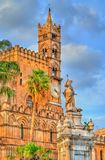 Palermo Cathedral, a UNESCO world heritage site in Sicily, Italy. Palermo Cathedral, a UNESCO world heritage site in Sicily - Italy Stock Photo