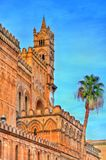 Palermo Cathedral, a UNESCO world heritage site in Sicily, Italy. Palermo Cathedral, a UNESCO world heritage site in Sicily - Italy Royalty Free Stock Photography