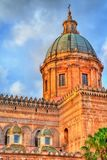 Palermo Cathedral, a UNESCO world heritage site in Sicily, Italy. Palermo Cathedral, a UNESCO world heritage site in Sicily - Italy Royalty Free Stock Photo