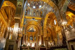 Free Palermo Catherdral Interior Architecture Stock Photography - 179238942