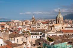 Palermo Centre krajobraz Zdjęcie Stock