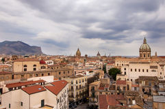 Palermo Centre Landscape Royalty Free Stock Photography