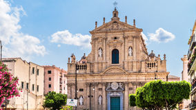 Palermo Church Front Royalty Free Stock Images