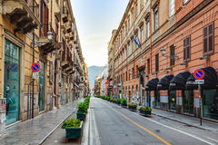 Palermo City in Sicily, Italy Stock Images