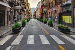 Palermo City in Sicily, Italy Royalty Free Stock Photo