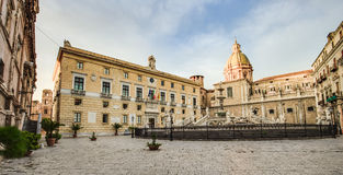 Palermo City in Sicily, Italy Royalty Free Stock Images