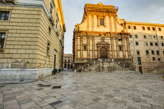 Palermo City in Sicily, Italy Royalty Free Stock Photography