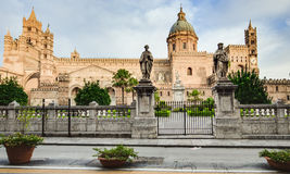 Palermo City in Sicily, Italy Stock Photos