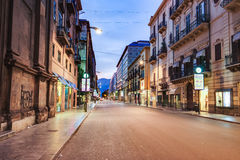 Palermo City in Sicily, Italy Royalty Free Stock Image