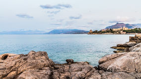 Palermo Coastline Royalty Free Stock Images