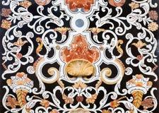 Palermo -  Detail from mosaic decoration in church La chiesa del Gesu Stock Photos