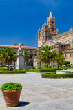 Palermo domkyrka arkivfoton