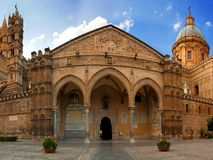 Palermo domkyrka Royaltyfria Foton