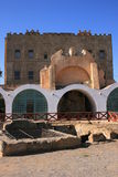 palermo för slottitaly la zisa Arkivbild