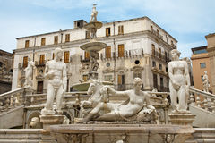 Palermo - Florentine fountain Royalty Free Stock Images