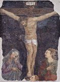 Graffiti nei torrioni dell'inquisizione a Palermo Fotografia Stock