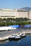 Palermo Harbor Stock Image