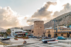 Palermo Harbor Stock Images