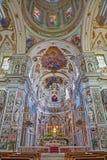 Palermo - Interior of church La chiesa del Gesu or Casa Professa. Stock Photo