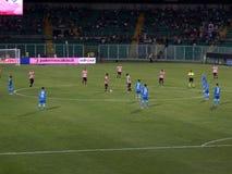 PALERMO, ITÁLIA - 31 de agosto de 2013 - di Palermo dos E.U. Citta contra Empoli FC - Serie B Imagem de Stock