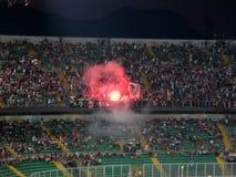 PALERMO, ITÁLIA - 17 de agosto de 2013 - di Palermo dos E.U. Citta contra Hélade Verona - COPO de TIM Foto de Stock Royalty Free