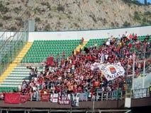 PALERMO, ITÁLIA - 9 de novembro de 2013 - di Palermo dos E.U. Citta contra Trapani Calcio - Serie B Fotografia de Stock Royalty Free