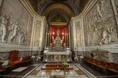 Palermo, Itália, Sicília 24 de agosto de 2015 A catedral de Palermo imagens de stock