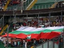 Palermo, Italië - 2013, 06 September - Italië versus de Wereldbekerbepalend woord van Bulgarije - van FIFA 2014 Stock Foto