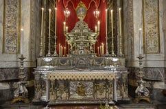 Palermo, Italië, Sicilië 24 Augustus 2015 De kathedraal van Palermo Royalty-vrije Stock Afbeelding