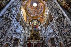 Palermo, Italië, Sicilië 24 Augustus 2015 De mooie Kerk van Martorana Royalty-vrije Stock Afbeelding