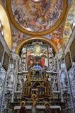 Palermo, Italië, Sicilië 24 Augustus 2015 De mooie Kerk van Martorana Stock Foto's
