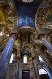 Palermo, Italië, Sicilië 24 Augustus 2015 De mooie Kerk van Martorana Royalty-vrije Stock Fotografie