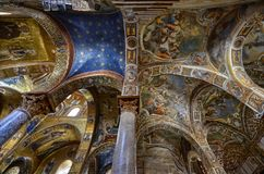 Palermo, Italië, Sicilië 24 Augustus 2015 De mooie Kerk van Martorana Royalty-vrije Stock Afbeeldingen