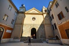Palermo, Italië, Sicilië 24 Augustus 2015 Het heiligdom van Tindari Royalty-vrije Stock Afbeeldingen