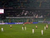 PALERMO, ITALIA - 22 de febrero de 2014 - di Palermo de los E.E.U.U. Citta contra Spezia Calcio - Serie B Eurobet Imágenes de archivo libres de regalías