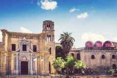 Palermo, Italia, iglesia de San Cataldo Imagen de archivo